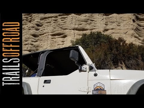 1N09 City Creek 4wd  Road - Big Bear California in 4k UHD