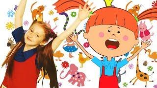 Зарядка с Царевной - Зоопарк - Песни для детей про животных - Новое видео