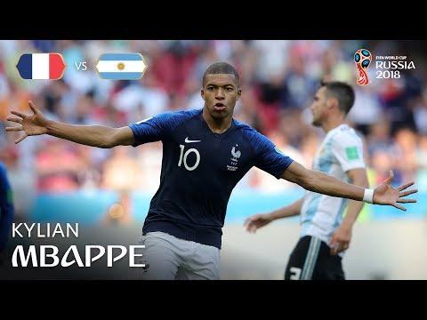 Kylian MBAPPE Goal - France v Argentina - MATCH 50