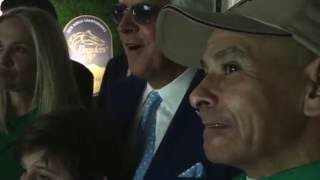 2016 Breeders' Cup Classic winning strategy explained by Mike Smith to Bob Baffert