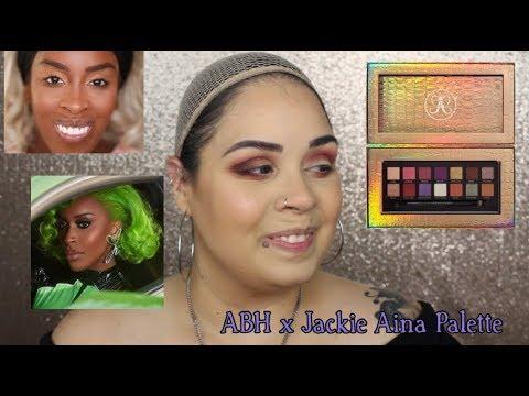 NEW!! ABH X JACKIE AINA PALETTE! thumbnail