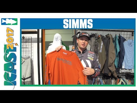 New Simms T-Shirt Designs With Cody Meyer | ICAST 2017