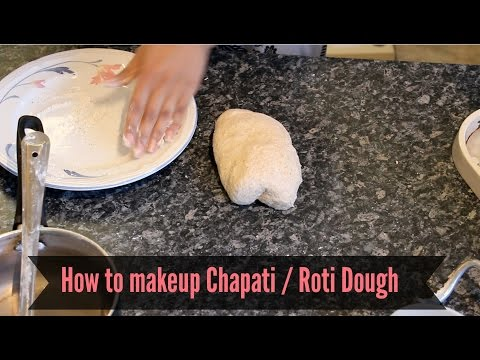 How to make quick & EASY chapati / roti dough tips tricks || Cooking With Raji