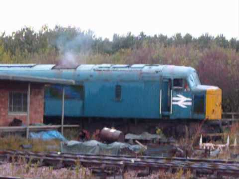 46010 Great Central Railway Nottingham Diesel Gala 23rd October 2010
