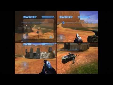 Halo 2 GamePlay LAN Party - YouTube