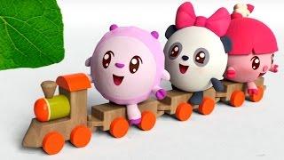 Малышарики - Умные песенки - Зеленый💚 - мультфильм для самых маленьких ❤🍬