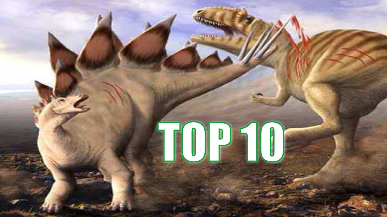 Top 10 Most Famous Dinosaurs