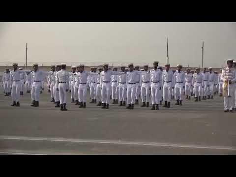 PNS himalaya passing out parade reversal - pakistan navy training center of sailors