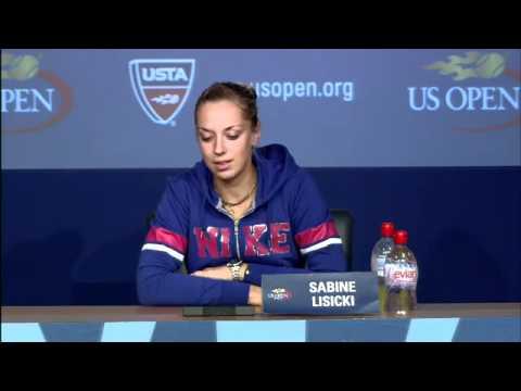 2011 US Open Press Conferences: Sabine Lisicki (Second Round)