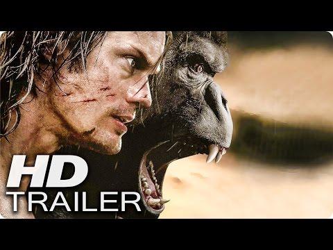 LEGEND OF TARZAN Trailer German Deutsch (2016)