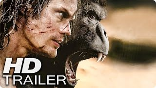 LEGEND OF TARZAN Trailer German Deutsch (2016)