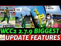 WCC2 2.7.9 BIG UPDATE FEATURES EXPECTED