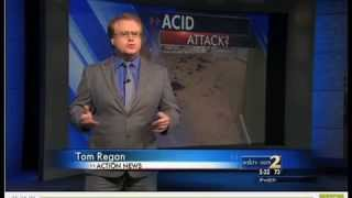 Acid Attack on Christy Tucker Sims {featured on WSB CH.2} on 7/26/13.