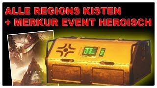 Destiny 2 - Alle Regions Kisten + Heroisches Event auf Merkur auslösen!