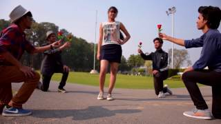 Shape of You Ed Sheeran Music Video by IIT Roorkee (Lyrics)
