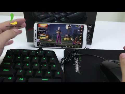 Hướng dẫn sử dụng bàn phím cơ Handjoy K1 chơi PUBG mobile không bị ban acc trên Android