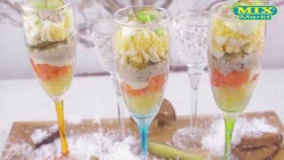 Салат с печенью трески, рецепт