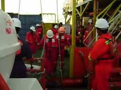 Offshore Job - Crew Transfer ship to ship