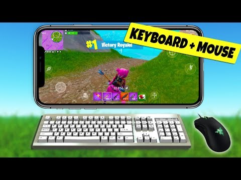 Fortnite Mobile KEYBOARD and MOUSE for ANDROID & iOS (Gamesir X1)