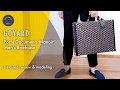 Goyard Men's Briefcase Porte Documents Manoir: Detailed review & modeling