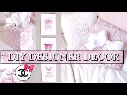 DIY DESIGNER INSPIRED ROOM DECOR
