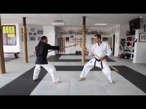 Kobudo KCRD - Bo kumite basic