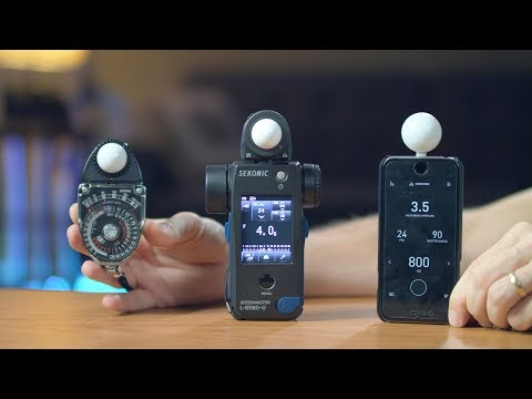 Light Meters - Why, When and How You Use Them? Filmmaking Tutorial