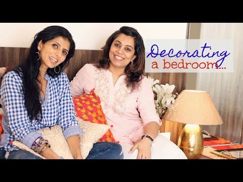 Decorating A Bedroom : An Indian Room Tour : Home Decor Tips & Ideas With Pallavi