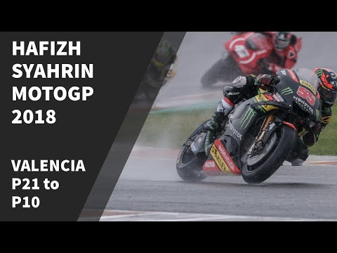 Hafizh Syahrin 21st to 10th MotoGP 2018 Valencia Mp3