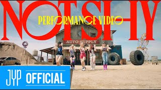 """Gambar cover ITZY """"Not Shy"""" Performance Video"""