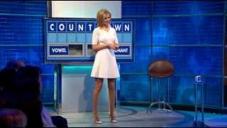 Rachel Riley on 8 out of 10 Cats 4/6/15
