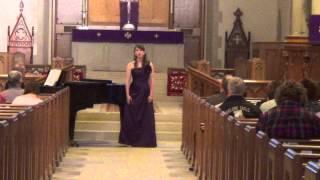 Rebekah Lowery in Recital