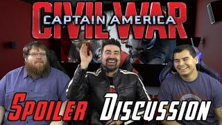 Civil War Spoilers Discussion