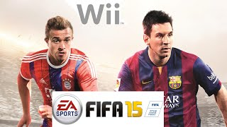 Fifa 15 para Wii  Gameplay