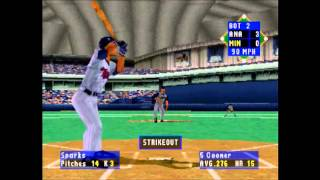 High Heat Baseball 2000 Angels vs Twins Part 1