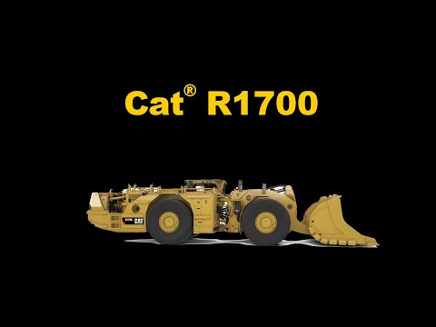 See The New Cat® R1700 Underground Loader