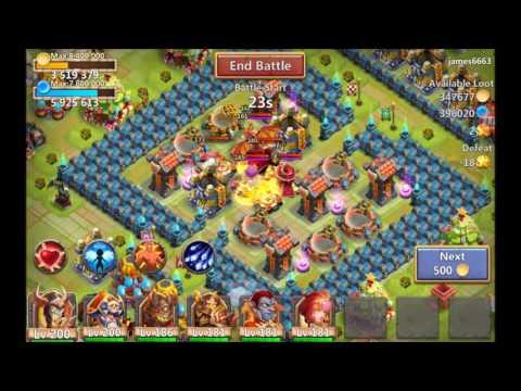 Castle Clash - Best DPS - Ghoulem, Vlad, Dracax Or Medusa?