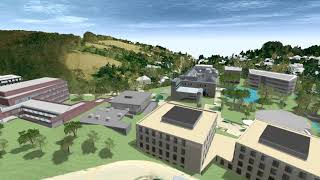 IST Austria Campus Fly-over Animation