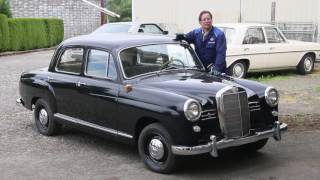 1954 to 1961 Mercedes Ponton Heater System Design and Operation