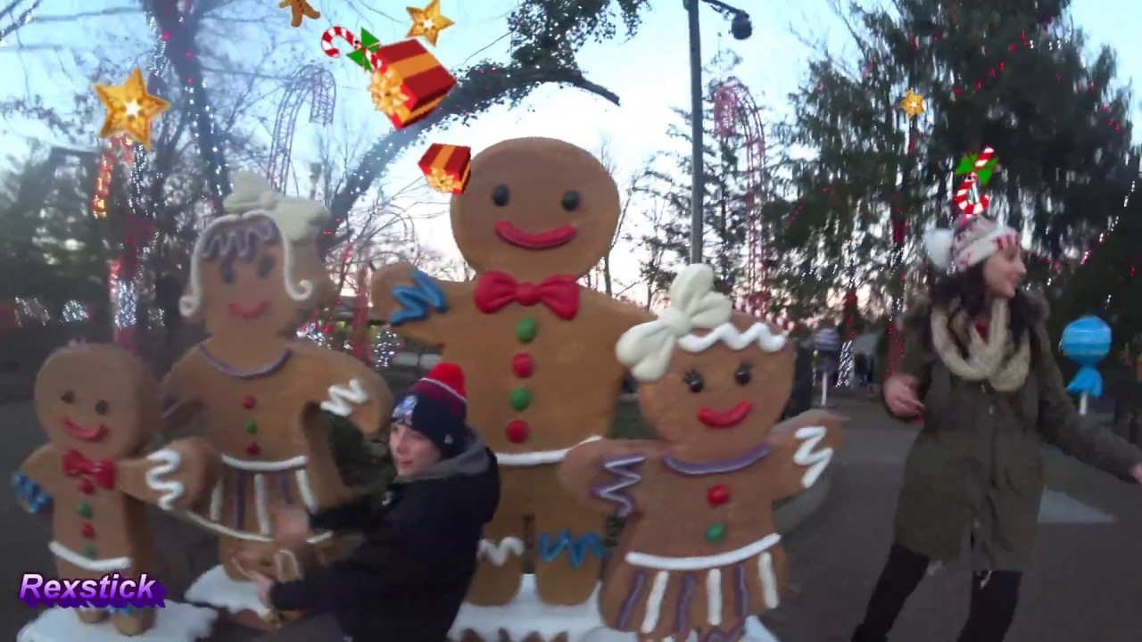 4k] Kings Island Winterfest Vlog - complete walkthrough SEE IT ALL ...