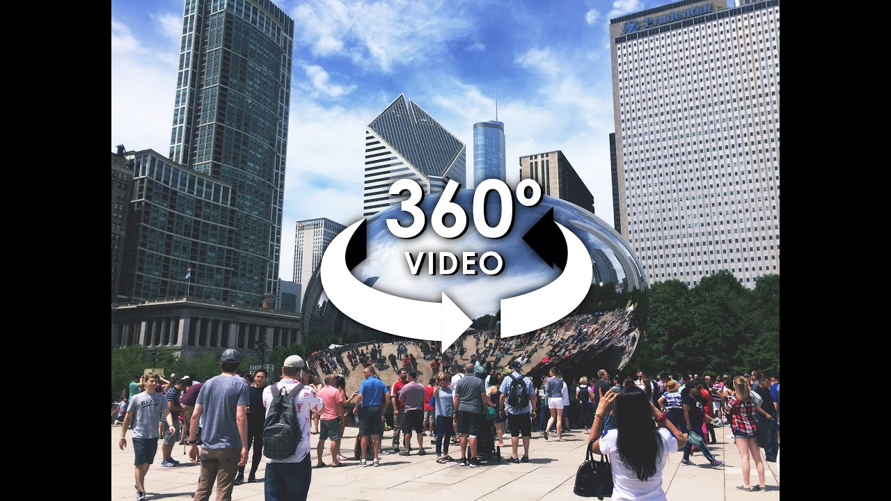 360 VR Video Of Chicago City Tour Shot On ALLie 360 Camera