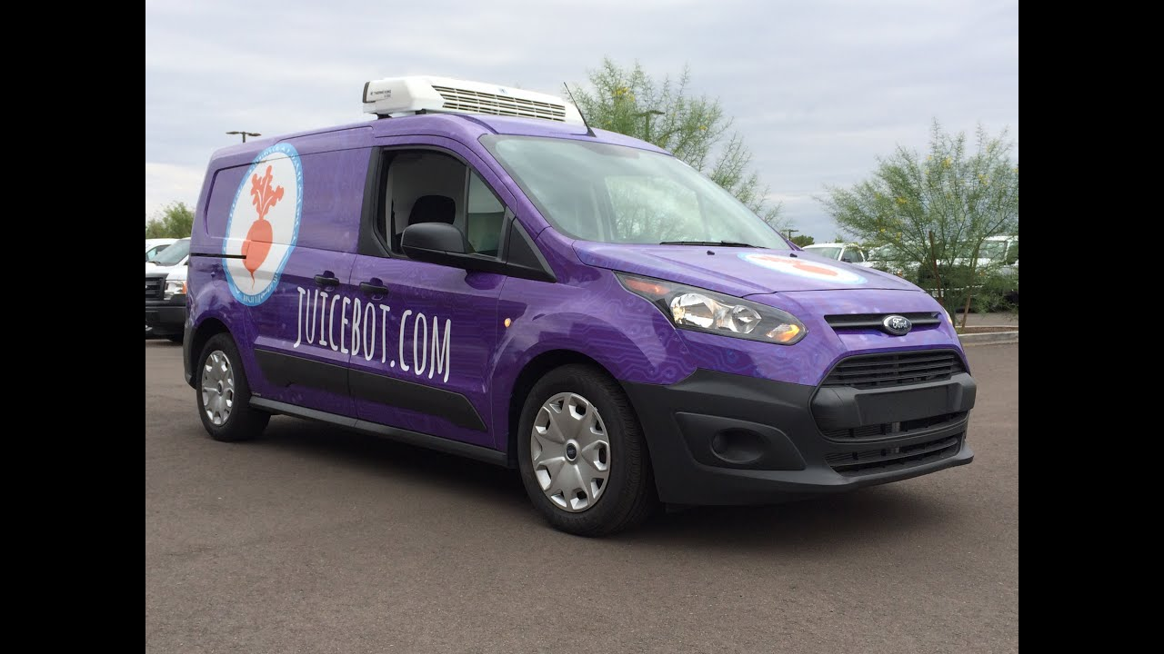 2015 Ford Transit Connect ThermoKing V 300 Reefer Custom Vinyl Wrap
