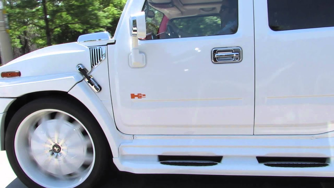 HILLYARD CUSTOM RIM&TIRE WORLDS MOST EXPENSIVE HUMMER H2 32 INCH