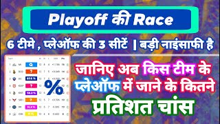IPL 2020 - Playoff Race & Points Table Today Analysis After CSK vs KKR | MY Cricket Production