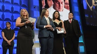 Southwest of Salem Shares Emotional Story In Acceptance Speech | 28th Annual GLAAD Media Awards