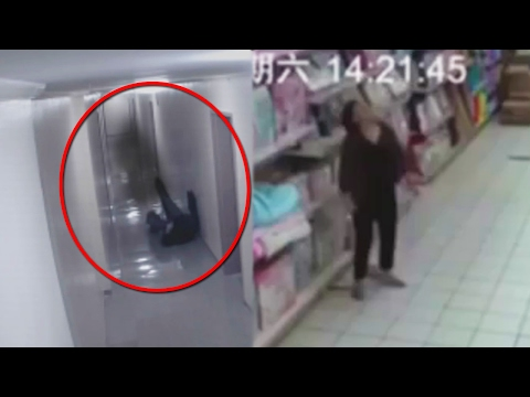 10 Most DISTURBING VIDEOS Caught on Security Cameras!