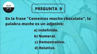TEST DE CULTURA GENERAL BÁSICA 3