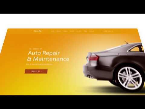 Web Design for Car Service Shop #59463