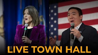 Andrew Yang at Fairfield Town Hall - Live Stream
