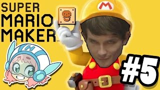 Super Mario Maker: No Bananas - PART 5 - Commander Holly Plays - Feat. Ross
